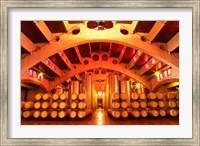 Wine Cellar at Raimat, Costers del Segre, Catalonia, Catalunya, Spain Fine-Art Print