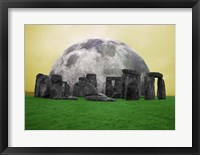 Full Moon over Stonehenge, England Fine-Art Print