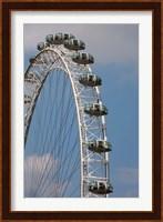 England, London, London Eye, Amuseument Park Fine-Art Print