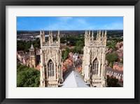 York Minster Cathedral, City of York, North Yorkshire, England Fine-Art Print