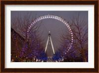 England, London, London Eye Amusement Park Fine-Art Print