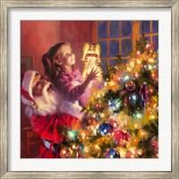 Santa Little Angel Bright Fine-Art Print