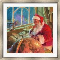 Santa World Traveler Fine-Art Print