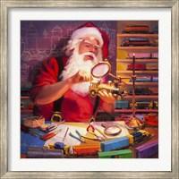 Santa the Train Master Fine-Art Print