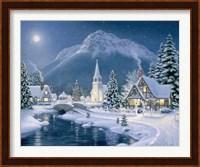 Christmas Village Fine-Art Print