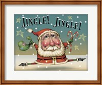 Santa On The Run Fine-Art Print