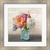 French Cottage Bouquet I Fine-Art Print