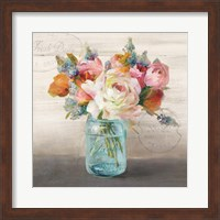 French Cottage Bouquet II Fine-Art Print