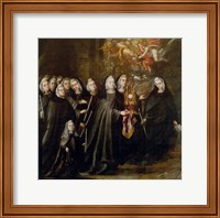 Procession of Saint Clare Fine-Art Print