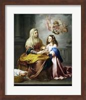 Saint Anne and the Virgin Fine-Art Print
