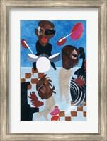 Untitled (Jazz with Blue Background) Fine-Art Print