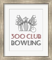 300 Club Bowling Fine-Art Print