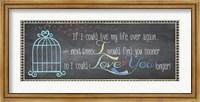 Love You Longer Fine-Art Print