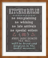 Kitchen Rules Fine-Art Print