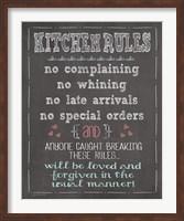Kitchen Rules Fine-Art Print
