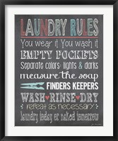 Laundry Rules Fine-Art Print