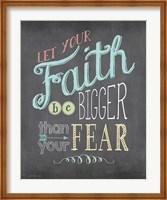Faith (Chalkboard) Fine-Art Print