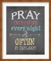 Pray Often Fine-Art Print