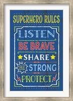 Superhero Rules Fine-Art Print