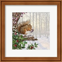 Christmas Squirrel Fine-Art Print