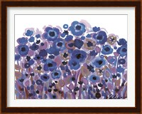 Blue Blooming Garden Fine-Art Print