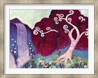 Tree Whimsy And Waterfall Fine-Art Print