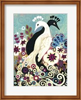 Swirling Peacocks Fine-Art Print