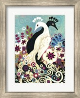 Swirling Peacocks Fine-Art Print