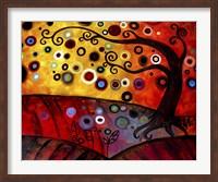 Red Floating Landscape Fine-Art Print