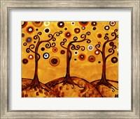 Swirling Trees On Sunset Fine-Art Print