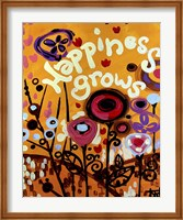 Happiness Grows Flowers Fine-Art Print