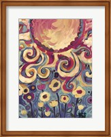 Sun And Flower Whimsy Fine-Art Print