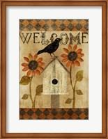 Fall Welcome Flag Fine-Art Print