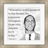 Education is the Passport to the Future Fine-Art Print
