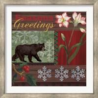 Christmas Lodge II Fine-Art Print