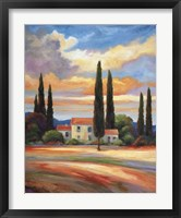 Sunset In Provence Fine-Art Print