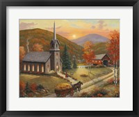 Autumn In Vermont Fine-Art Print