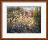 Grazing The Fertile Farmland Fine-Art Print