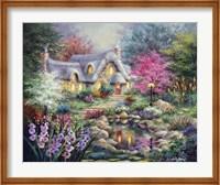 Cottage Pond Fine-Art Print