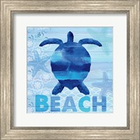 Sea Glass Turtle Fine-Art Print