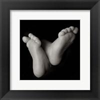 Baby Feet Crossed Fine-Art Print