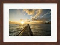Waikiki Jetty Sunset Fine-Art Print