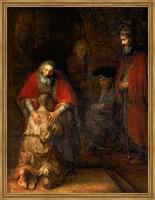 Return of the Prodigal Son, c.1668 Fine-Art Print