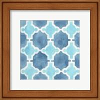 Watercolor Tile VII Fine-Art Print