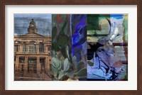 Texas Steer Collage Fine-Art Print