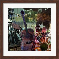 Guitar Collage Fine-Art Print
