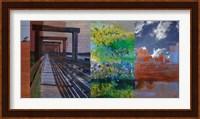 Fort Worth Collage I Fine-Art Print