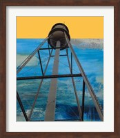 Water Tower Abstract Fine-Art Print