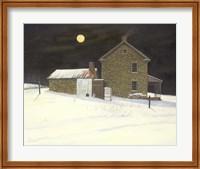 Early Moon Fine-Art Print