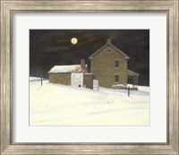 Early Moon Fine-Art Print